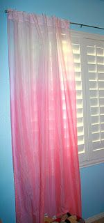 Leaf House: DIY Ombre Curtains