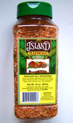 Hawaiian Season Salt for BBQ Rub, Meat Grilling, Chicken Marinade, Vegetable Sessoning #seasonsalt - I always have this in my pantry because it is so versatile.