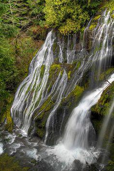 Panther Creek Falls - Columbia River Gorge, Washington