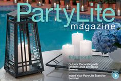 #PartyLite Magazine  www.PartyLiteMagazine.com : Shop online at www.PartyLite.biz/NikkiHendrix
