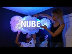 Cómo hacer una lámpara de Nube ☁   Superholly - YouTube
