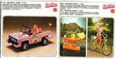 catalogo Barbie -  Italia 1977