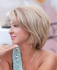 A medium blonde straight coloured mature Womens hairstyle by Mature Web Collection; I kind of like this haircut but my husband would probably freak if I cut it this short