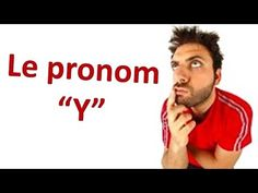 """En 2 minutes: Le pronom """"Y"""" French Teacher, Teaching French, How To Speak French, Learn French, A Level French, Core French, French Grammar, School Plan, French Classroom"""