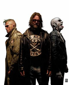 """Unholy trio"" by Tim Bradstreet."