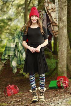 Melody Black Dress