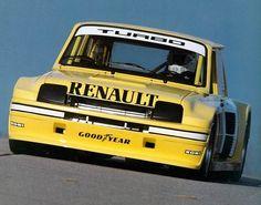 BMW and Motorsport nostalgia. Renault 5 Turbo, Alpine Renault, Gt Turbo, Turbo Car, Euro Sport, Sport En France, Lancia Delta, Yellow Car, Motosport