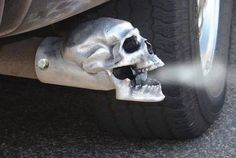 skull+exhaust+tip
