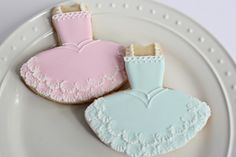 Sugar Bea's Blog: Ballet Cookies {tutus and slippers}
