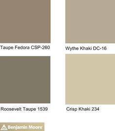 Neutral Paint Colors | Pinterest Most Wanted Benjamin moore