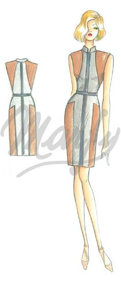 Modèle 2917 | Patron de couture Robes