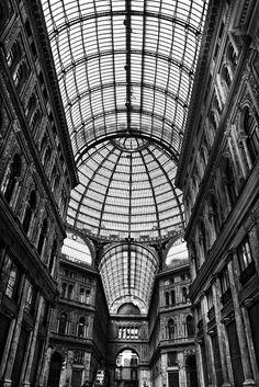 Galleria Umberto. Naples, Italy