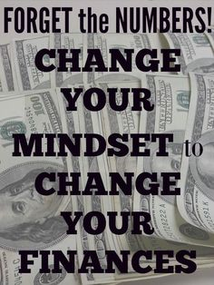 Forget the actual money and change your mindset. You could be amazed at what happens!