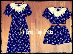 Taylor and Demolish: DIY Crop Top Dress