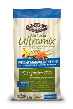 5. Castor & Pollux Natural Ultramix Weight Management Adult Dry Dog Food: http://amzn.to/28U3YYn