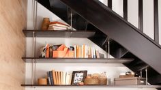 1000 Images About Bibliotheque Design Tag Res Suspendues On Pinterest Modular Shelving