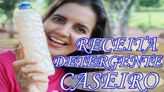 Como Fazer DETERGENTE CASEIRO - 12 lts com menos de  R$ 10,00 Com Fran A...