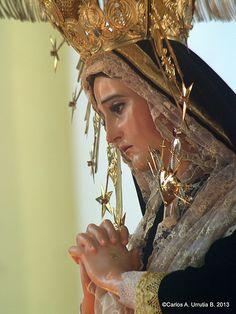 Virgen Dolorosa de la Recolección  Cuaresma Guatemala 2013