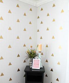 Triangle Wall Decal Sticker / Triangle Decals by ArtForwardDecals