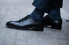 Granatowy garnitur | Gentlemen - YANKO