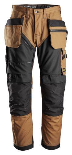 Men/'s Safety Workwear Trouser Carpenter Builder Cargo Working Pant North Skin