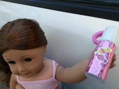 American Girl Doll Crafts and Fun!: Back To School Series Craft #1 Doll Thermos