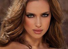 "Love the makeup Irina Shayk – ""Dany Mizrachi"" Photoshoot 2011 Irina Shayk 2016, Virtual Makeover, Celebrity Wallpapers, Cover Model, Russian Models, Belleza Natural, Covergirl, Dark Hair, Pretty People"