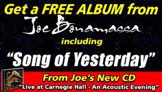Joe Bonamassa | Live At Carnegie Hall | Free Song Download