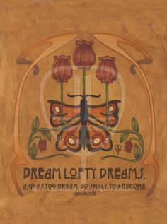 Ruskin: Dream Lofty Dreams - The Bungalow Craft By Julie Leidel