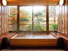 Baños de Diseño Elegante de Estilo Japonés