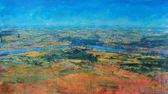 High Summer, Conwy Valley From Tal-y-Fan  Martin Collins  British landscapes