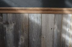 wainscoting with old wood - Google Search