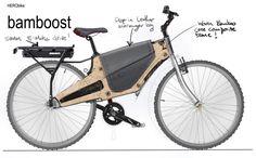 Bamboost Composite Bamboo e-Bike - Core77
