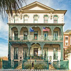 Charleston Home Porch - Southern Living