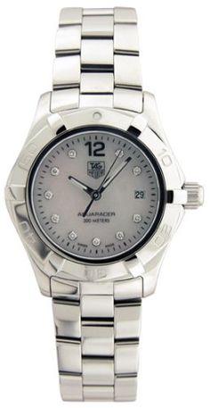 7c8a956415e TAG Heuer Women s WAF1415.BA0813 2000 Aquaracer Diamond Watch  2