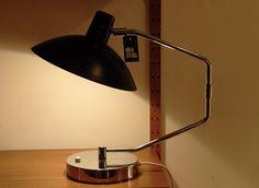 Lampe de bureau, design Clay Michie, éd. Regent, Suisse, 1960.