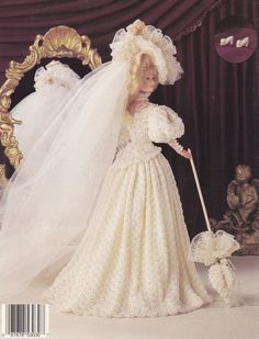 1904 Gibson Girl Bride Vol 19 Paradise by LucyGooseyDolls on Etsy