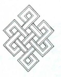 endless knot buddhist tattoo - Google Search