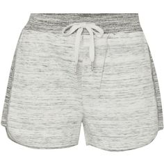 Calvin Klein Faelyn double knit shorts (€38) ❤ liked on Polyvore featuring shorts, bottoms, light grey, women, calvin klein shorts and calvin klein