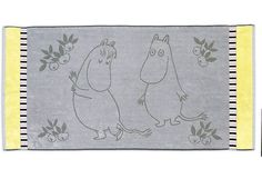 Finlayson Juhlamuumi kylpypyyhe n. 24-25€ Tove Jansson, Scandinavian Interior Design, Linen Bedding, Towel, Textiles, Kids Rugs, Character, Linen Sheets, Kid Friendly Rugs