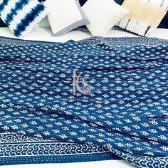Cotton Bedding, Quilt Bedding, Cotton Quilts, Queen Bed Quilts, Queen Size Bedding, Indigo Colour, Indigo Blue, Kantha Stitch, Cotton Throws