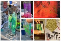 Looking Forward to another Printmaking Party! | Sandy Rosen Art