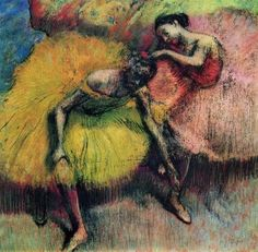 Edgar Degas, one of my favorite artists of all.