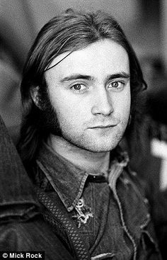 Phil Collins circa the drummer 70s Music, Music Icon, Music Love, Rock Music, Peter Gabriel, Phil Collins, Young Celebrities, Celebs, We Will Rock You