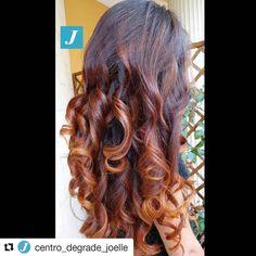 #Repost @centro_degrade_joelle with @repostapp ・・・ Sempre Degradé Joelle! #cdj #degradejoelle #tagliopuntearia #degradé #igers #musthave #hair #hairstyle #haircolour #longhair #ootd #hairfashion #madeinitaly #wellastudionyc