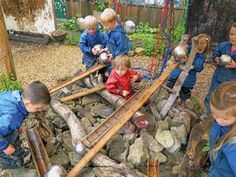 making a natural outdoor area eyfs - Google Search