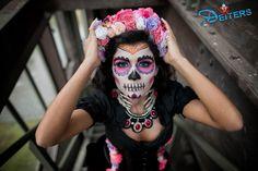 #behorror #makeup #costumes #pink #flowers #halloween