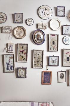 collection of antique framed photos | Paris : Antique chic . . .