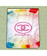 Chanel logo pink new hot custom CUSTOM BLANKET ... - $27.00 - $35.00