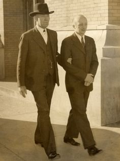 An accused German spy, escorted to trial in El Paso (Source: El Paso County Historical Society)